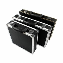 Weichster-Black Aluminum Snooker or Pool Ball Carrying Case