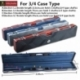 Weichster N&A 1pc & 3/4 Polycarbonate Password Code Snooker/Pool Cue Case
