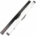 "Weichster 3/4 Aluminum Snooker Pool Cue Hard Case 47"" with Locks and Chalk Space"