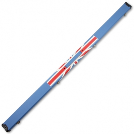 Weichster One 1Piece Union Jack Flag Hard Cue Case